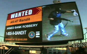 How FBI Uses Digital Billboards to Catch Fugitives