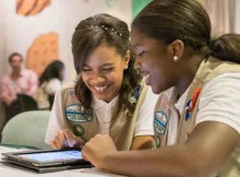 How Girl Scouts Sell Digital Cookies