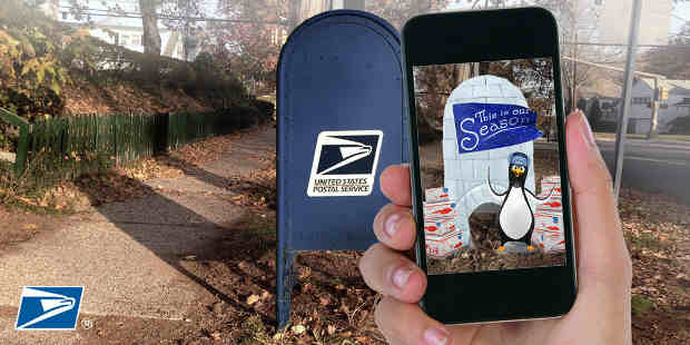 Postal Service Mobile Marketing Campaign Uses AR Technology
