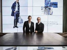 Tommy Hilfiger and Daniel Grieder in the Digital Showroom