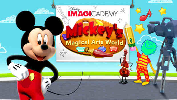 Disney Mickey's Magical Arts World App