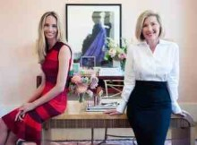 Moda Operandi Co-founder Lauren Santo Domingo and CEO Deborah Nicodemus