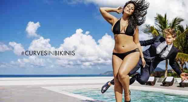 Plus-Size Model Celebrates Her Curves with #CurvesInBikinis