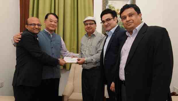 Samsung Donates Rs 2.92 Crore to Indian Government