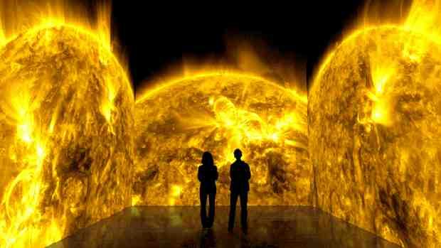 NASA Digital Art Installation – Solarium