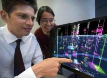 IBM Fellows John Smith and Donna Eng Dillenberger demonstrate how data can make city transportation more efficient.