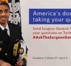 Vivek Murthy Invites Your Health Queries on Twitter