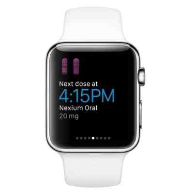 WebMD Apple Watch app