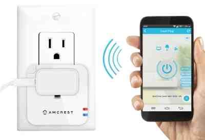 Amcrest Smart Plug to Boost Wi-Fi Signals