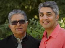 Deepak Chopra and Poonacha Machaiah