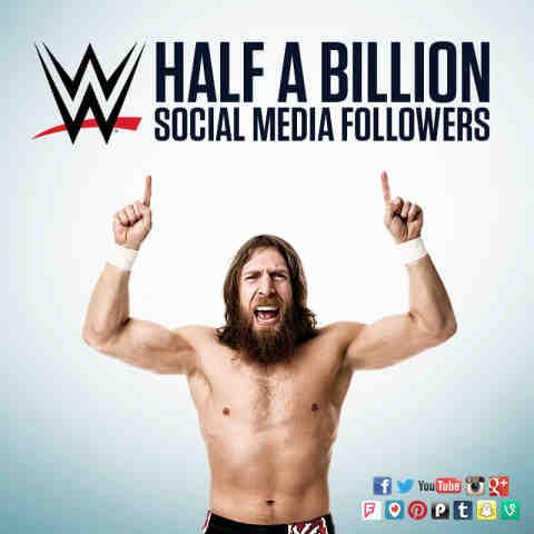 WWE Claims Half a Billion Social Media Followers