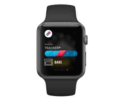 Domino's Pizza Customers to Track the Order on Apple Watch