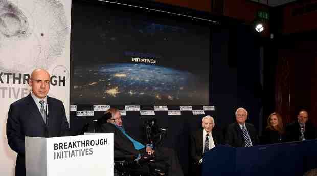 Yuri Milner and Stephen Hawking Announce $100 Million Breakthrough Initiatives to Dramatically Accelerate Search for Intelligent Life in the Universe