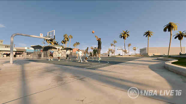 Electronic Arts Brings NBA LIVE 16 Pro-Am