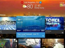 Live Weather Android TV App Channel