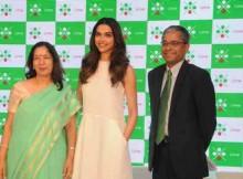 Ms.Shikha Sharma, MD & CEO, Axis Bank, Deepika Padukone, Mr. Rajiv Anand