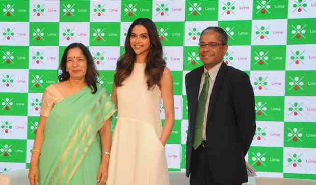 Ms.Shikha Sharma, MD & CEO, Axis Bank, Deepika Padukone, Mr. Rajiv Anand