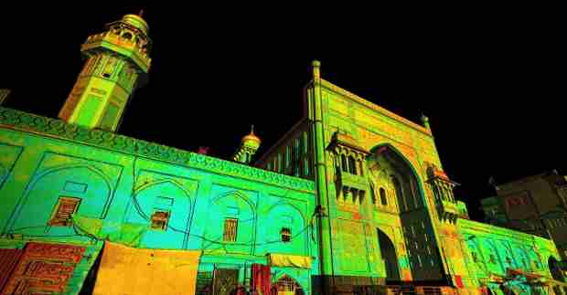 Laser scan data of the Masjid Wazir Khan Mosque in Pakistan