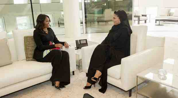 Michelle Obama Meets Education Leaders in Qatar