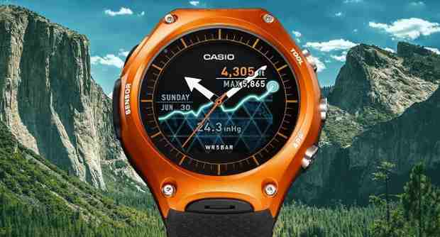 Casio to Release Smart Watch with Android Wear