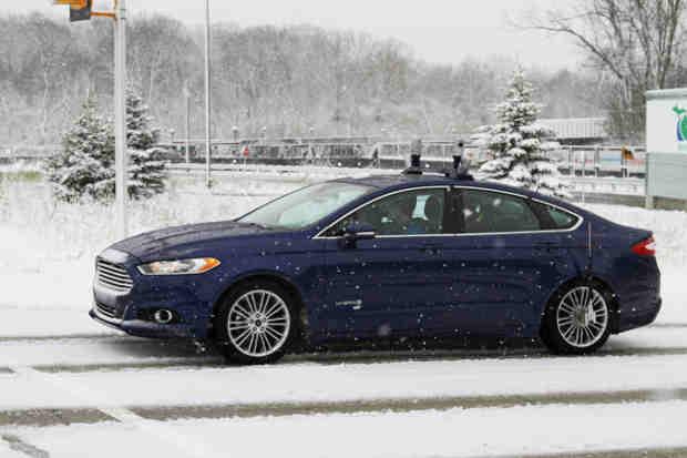 Can Technology Help Autonomous Vehicles Run on Snow?