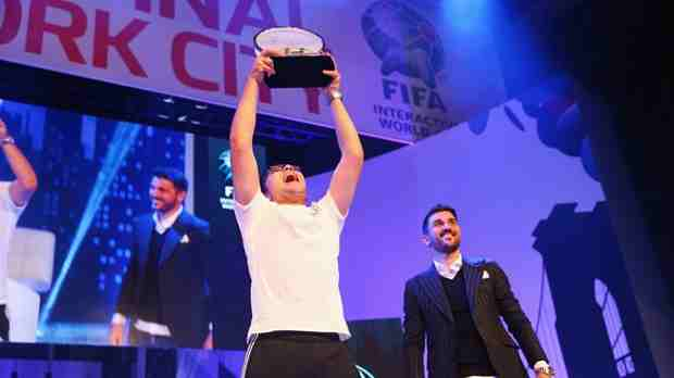 Mohamad Al-Bacha Wins FIFA Interactive World Cup Title