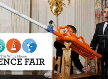 President Obama had established the tradition of the White House Science Fair at the start of his administration