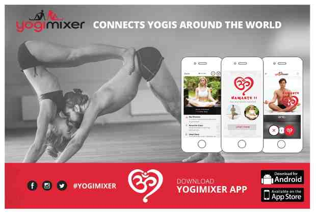 YogiMixer Mobile App to Help Yoga Lovers Find Romance