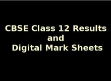 CBSE Class 12 Results Go Online...with Digital Mark Sheets
