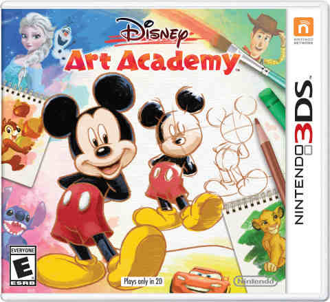 How to Draw Disney Characters in Disney Art Academy