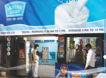 Mother Dairy Milk Booth