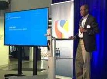 UNICEF Deputy Executive Director Omar Abdi addressing the San Francisco workshop