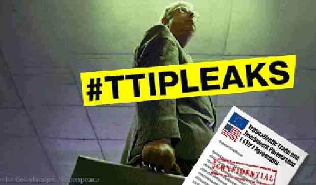 WikiLeaks Releases Searchable Draft of Secret TTIP Agreement