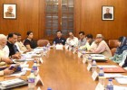 Narendra Modi chairing the meeting of Governing Council of the National Skill Development Mission, in New Delhi on June 02, 2016