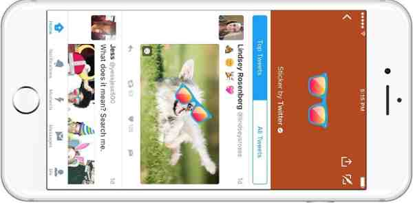 Twitter Announces Searchable #Stickers for Photos