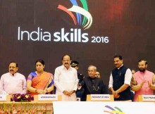 President Pranab Mukherjee Opens India Skills Competition