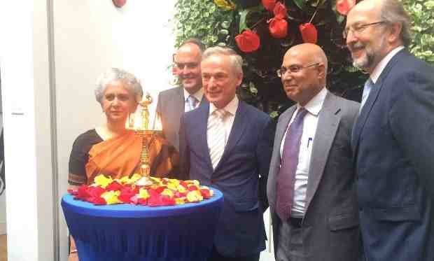 Inauguration of the European delivery centre of NIIT Ltd in Dublin, by Ireland's Minister for Education & Skills, Richard Burton TD, in presence of the Indian Ambassador to Ireland, Mrs. Radhika Lal Lokesh, IDA Ireland executives