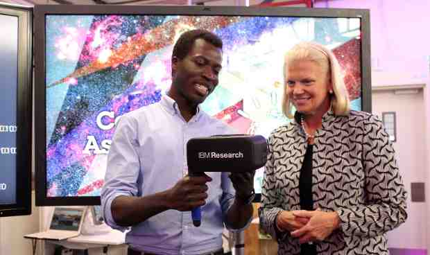 Ginni Rometty Opens IBM Research in Johannesburg