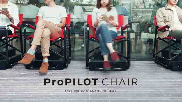 The ProPILOT Chair is inspired by Nissan's flagship autonomous driving technology