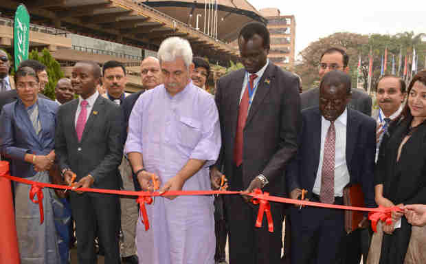 Manoj Sinha inaugurating the 2nd edition of the Indo-Africa ICT Expo in Nairobi, Kenya on September 06, 2016