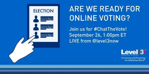 Twitter Chat to Discuss Viability of Online Voting