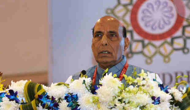 Home Minister of India Rajnath Singh