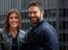 Wendy Clark, CEO of DDB North America, with Ari Weiss, newly appointed CCO of DDB North America