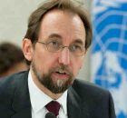 High Commissioner for Human Rights Zeid Ra'ad Al Hussein. UN Photo / Jean-Marc Ferré