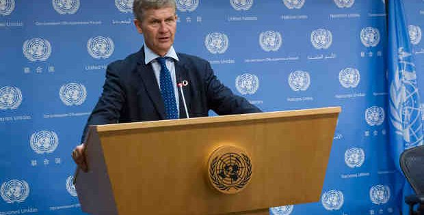 Executive Director of the United Nations Environment Programme (UNEP) Erik Solheim. UN Photo / JC McIlwaine