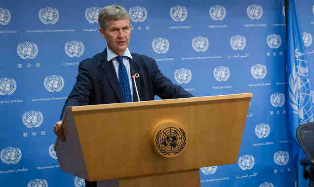 Executive Director of the United Nations Environment Programme (UNEP) Erik Solheim. UN Photo / JC McIlwaine