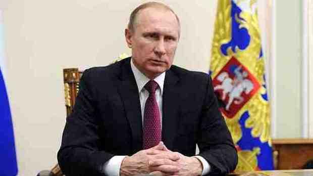 President of Russia Vladimir Putin. Photo courtesy: Kremlin