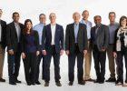 IBM Honors 11 New Fellows in 2017. L-R: Hugo Krawkzyk, Sridhar Muppidi, Rachel Reinitz, Sam Lightstone, Ed Calusinski, Eric Herness, Matthias Steffen, Dakshi Agrawal, Matt Huras, Hillery Hunter, Charlie Hill