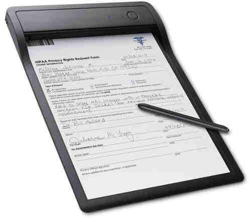 Wacom Clipboard Converts Paper Documents to Digital in Real-time