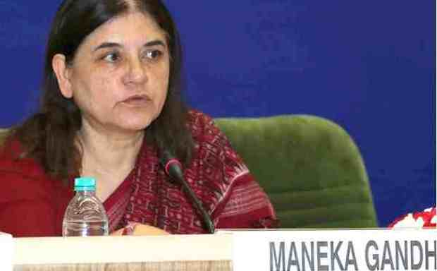 Minister of Women and Child Development, Maneka Sanjay Gandhi